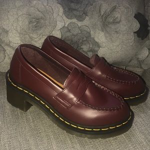 Dr. Martens Heeled Loafers NEW Woman's 5